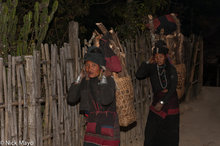 Backstrap Basket,Burma,Eng,Firewood,Shan State