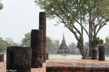 Pagoda,Sukhothai,Thailand