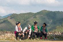 China,Festival,Guangxi,Head Scarf,Leggings,Yi