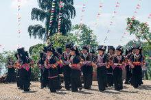 China,Dancing,Festival,Guangxi,Yi