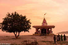 Temple On The Salt Desert Edge