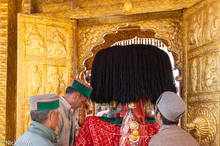 Doorway,Festival,Hat,Himachal Pradesh,India,Palanquin