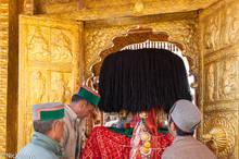 Doorway,Festival,Himachal Pradesh,India,Palanquin