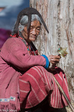 Arunachal Pradesh,Festival,Hat,India,Monpa,Prayer Wheel