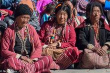 Three Women At The Torgya Festival