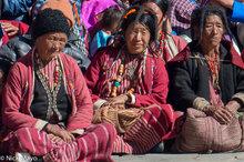 Arunachal Pradesh,Festival,Hat,India,Monpa,Necklace