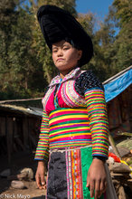 White Hmong Girl In Her Best Clothes