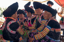 White Hmong Women Chatting