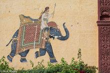 Pas Haveli Exterior Mural
