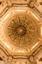 Ceiling In Chaturmukha Jain Temple