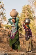 Bhil,Fetching Water,India,Rajasthan