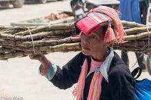 Lao Cai,Market,Vietnam,Yao