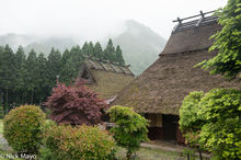 Barn,Japan,Kinki,Residence,Roof,Thatch
