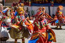Bhutan,Dancing,East,Festival,Mask,Monk