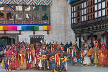 Bhutan,East,Festival,Mask,Monk