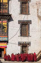 Bhutan,Dzong,East,Festival,Monk