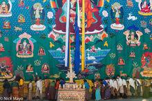 Bhutan,East,Festival,Shawl,Tanka