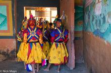 Bhutan,East,Festival,Monk