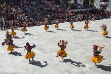 Bhutan,Dancing,Drum,East,Festival,Mask,Monk