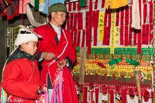 Altar, Bell, Dujie, Lai Chau, Sai Mienh, Vietnam, Yao
