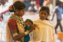 Chhattisgarh, Gond, India, Market, Shopping