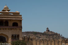 Amber Fort Battlements