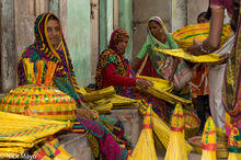 Gujarat, India, Market, Selling