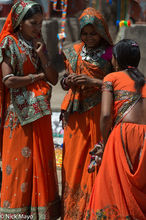 Bhil, Head Scarf, India, Madhya Pradesh, Necklace