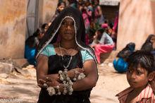 Bhil, Bracelet, Head Scarf, India, Madhya Pradesh