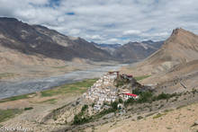 Himachal Pradesh, India, Monastery