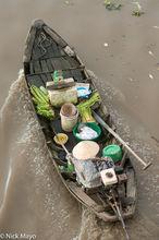 Boat, Soc Trang, Vietnam