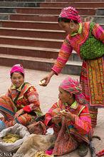 Flowery Hmong Women