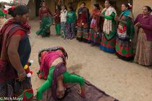 Dancing, Festival, Nepal, Terai, Tharu