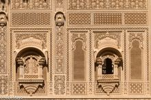 India, Rajasthan, Temple, Wall, Window