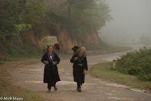 Backstrap Basket, Dien Bien, Head Scarf, Miao, Vietnam