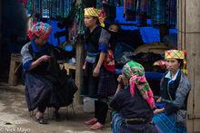 Earring, Head Scarf, Miao, Shop, Vietnam, Yen Bai