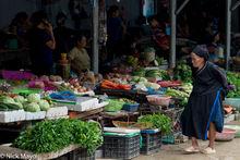Ha Giang, Market, Vietnam, Zhuang