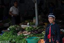 Ha Giang, Market, Vietnam, Yao