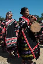 Burma, Drum, Drumming, Festival, Lahu, Shan State
