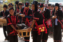 Burma, Festival, Lahu, Piping, Shan State