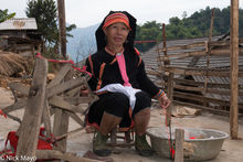 Lai Chau, Spindle, Spinning, Vietnam, Yao