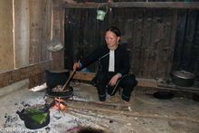 Cooking, Hearth, Lai Chau, Meat, Vietnam, Yao