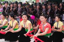 Dai, Dancing, Festival, Lai Chau, Lu, Vietnam