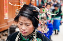 China,Dong,Guizhou,Hair Piece,Wedding