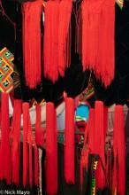 Red Tassles Of Hani Hats