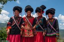 China,Funeral,Hat,Sichuan,Yi