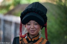 China,Earring,Festival,Hat,Sichuan,Yi