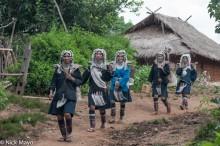 Burma,Hani,Residence,Shan State,Thatch