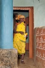 Anklet,Bracelet,Doorway,Gond,India,Orissa,Wall