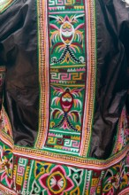 Detail Of Jacket From Reverse